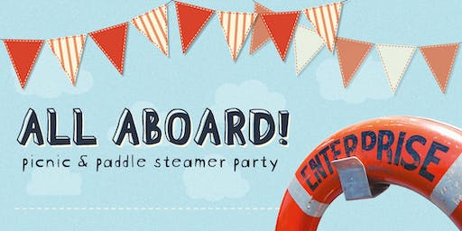 All Aboard! - Picnic and Paddle Steamer Party