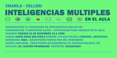 Charla-taller 'Inteligencias Múltiples en el Aula'