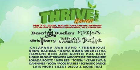 THRIVE Fest Hawaii - 2020 tickets