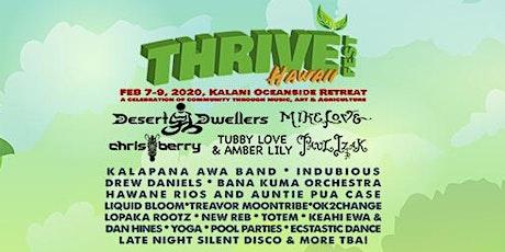 THRIVE Fest Hawaii - 2020 tickets