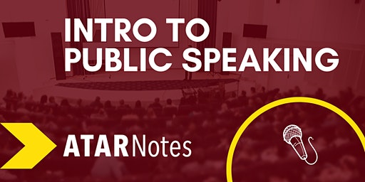 Intro to Public Speaking | Two-Day Course | ATAR Notes