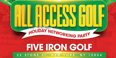 All Access Golf - Holiday & Networking Party tickets
