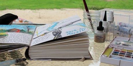 Intro to Creative Journaling- with Drawing, Ink & Watercolour (weekend retreat) tickets