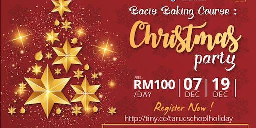 Baking Course : Christmas Party