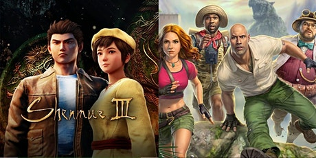 Play Shenmue 3 and the Jumanji Video Game tickets