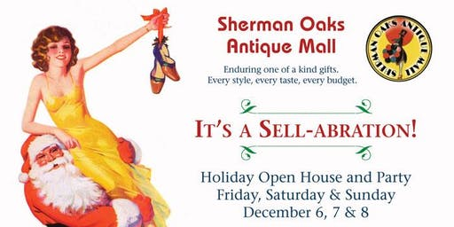 Vintage Holiday Open House Party and SALE !