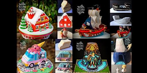4 days 3D Cake Kids Winter Camp