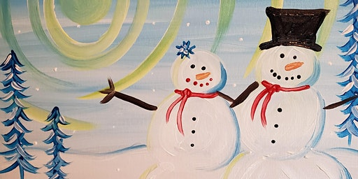 "Paint and Pint  at Chester's Pub ""Festive Snowmen"""