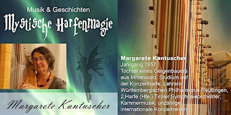 Mystische Harfenmusik & Geschichten mit Margarete Kantuscher Tickets