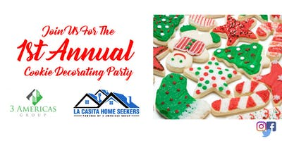 1st Annual Cookie Decorating Party