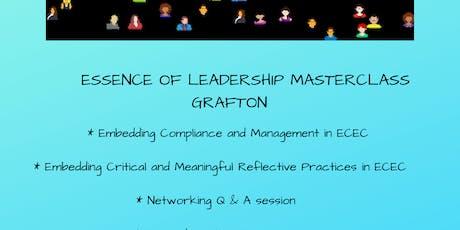Essence of Leadership Masterclass Grafton tickets