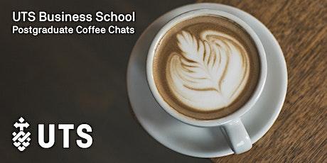 Postgraduate Info Coffee Chat: Wynyard tickets