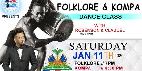 FOLKLORE / KOMPA -- DANCE CLASS WITH ROBENSON & CLAUDEL tickets