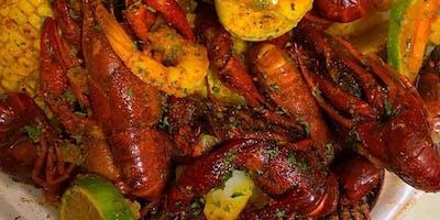 Cajun Crawfish & Shrimp at Famously Hot New Year