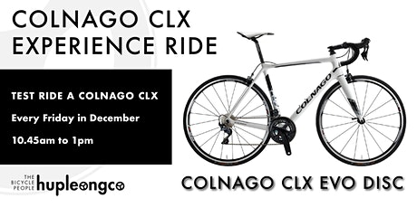 Colnago CLX Experience Ride tickets