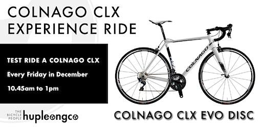 Colnago CLX Experience Ride