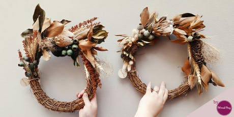 Dried Wreath Christmas Workshop tickets