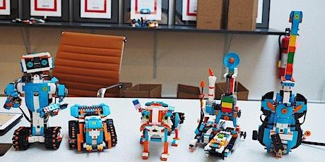 机器人及编程基础假期班 7 - 12 岁(两天)  tickets