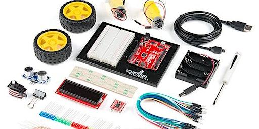 电子入门假期班 Sparkfun Inventor Kit  9 - 14 岁(两天) 自带电脑