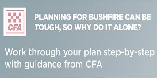 Monbulk CFA - Bushfire Planning Workshop