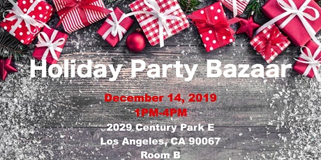 Holiday Party, Bazzar & Network  tickets
