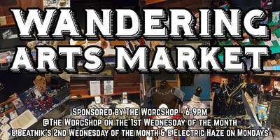 Wandering Arts Market @ Electric Haze 12.23.19