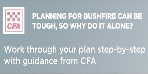 Montrose CFA - Bushfire Planning Workshop