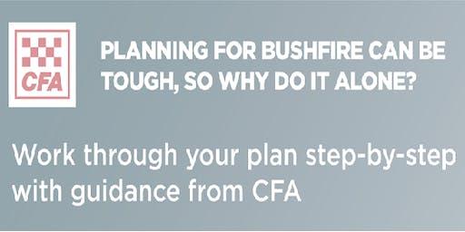 Mount Evelyn CFA - Bushfire Planning Workshop
