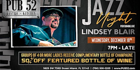 Lindsey Blair Performing Live Wednesday Dec 18th tickets