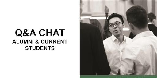 Alumni & Current Students Chat: Tokyo