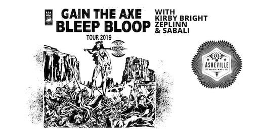 Bleep Bloop w/ Kirby Bright, Zeplinn & Sabali | Asheville Music Hall