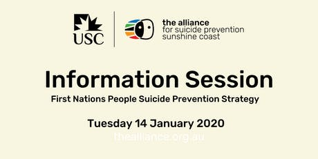 Community Information Session - First Nations People Suicide Prevention tickets