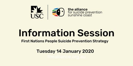 Community Information Session - First Nations People Suicide Prevention