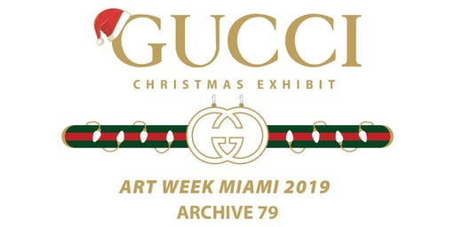 Gucci Christmas Exhibit