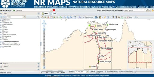 Free 2 hour NR Maps Training Workshop