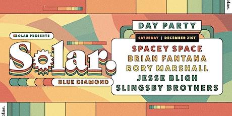 Solar. Day Party. Blue Diamond. tickets