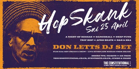 Hop Skank - Don Letts DJ Set  tickets