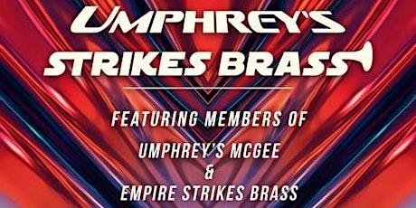 Umphrey's Strikes Brass ft. ESB w/ members of UM - AVL Umphrey's Late Night tickets
