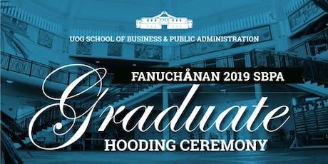 Fanuchånan 2019 Graduate Hooding Ceremony tickets