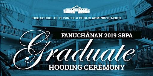 Fanuchånan 2019 Graduate Hooding Ceremony