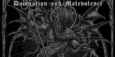 'DAMNATION & MALEVOLENCE' FT NOCTURNAL GRAVES