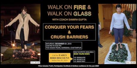 Firewalk & Glasswalk - Break barriers & limiting beliefs tickets