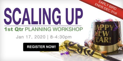 1st Quarter Scaling Up Planning Workshop: Strategy