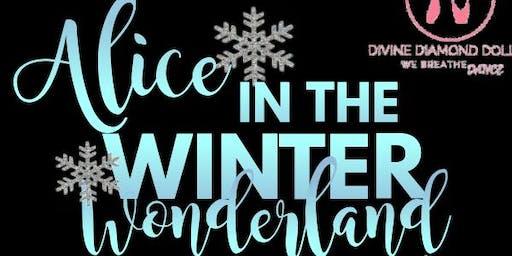 D3 Presents Alice in the Winter Wonderland