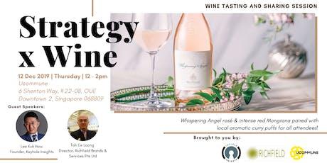 Strategy x Wine tickets