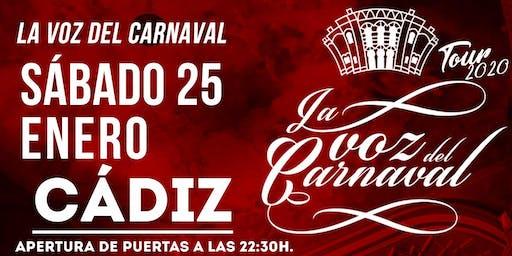 La voz del Carnaval - Sábado 25 de enero de 2019