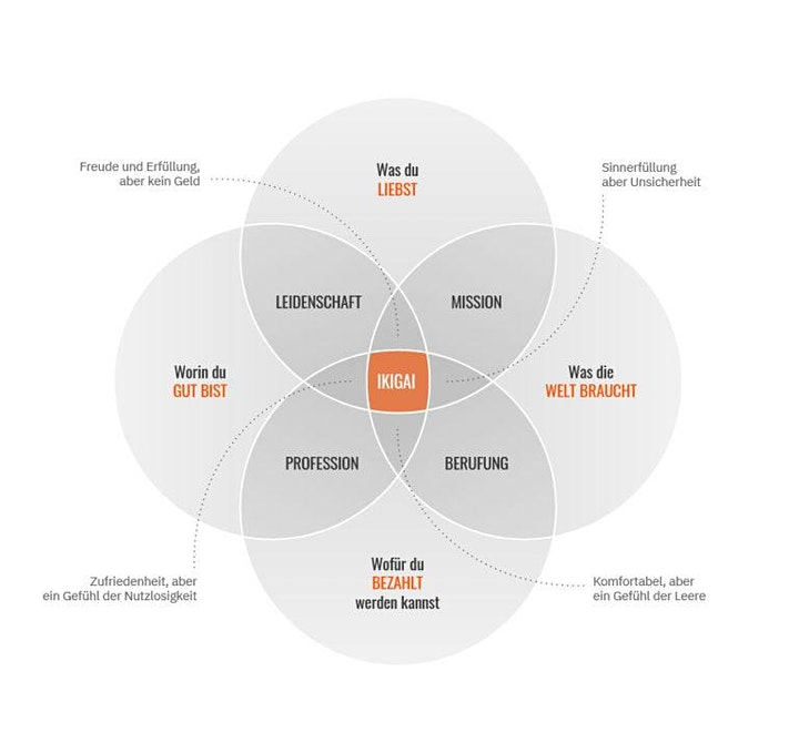 Understand the IKIGAI-Process: Bild