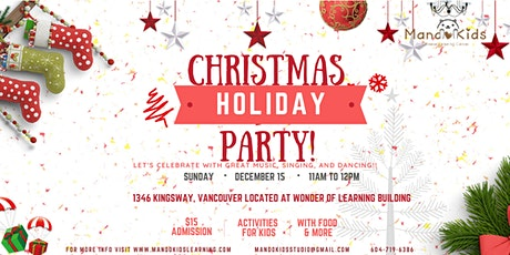 A Chinese Christmas Party! ~Fun Educational Experience for Kids! tickets
