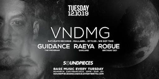 VNDMG, GUIDANCE, RAEYA, RO6UE — SOUNDPIECES
