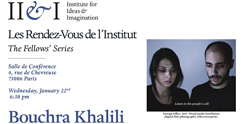 Bouchra Khalili : Calling the Ghosts: On a Few Recent Works
